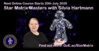 Star Matrix Master with Silvia Hartmann - 14 September - 30 November 2020